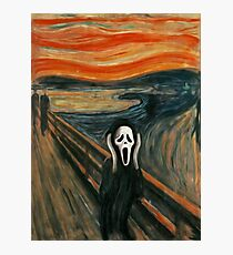 (The) Scream Parody Photographic Print