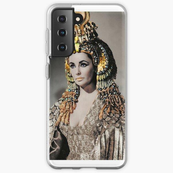 Elizabeth Taylor as Cleopatra Samsung Galaxy Soft Case