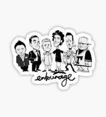 Entourage Sticker