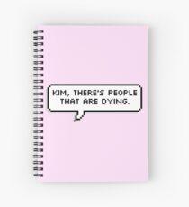 Kim Spiral Notebook
