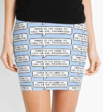 Professor Mini Skirt