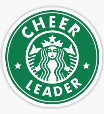CHEERLEADER STAR BUCKS CHEER GREEN Sticker