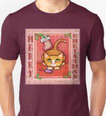 Merry Christmas Cat T-Shirt T-Shirt
