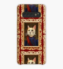 Napoleon Cat Case/Skin for Samsung Galaxy