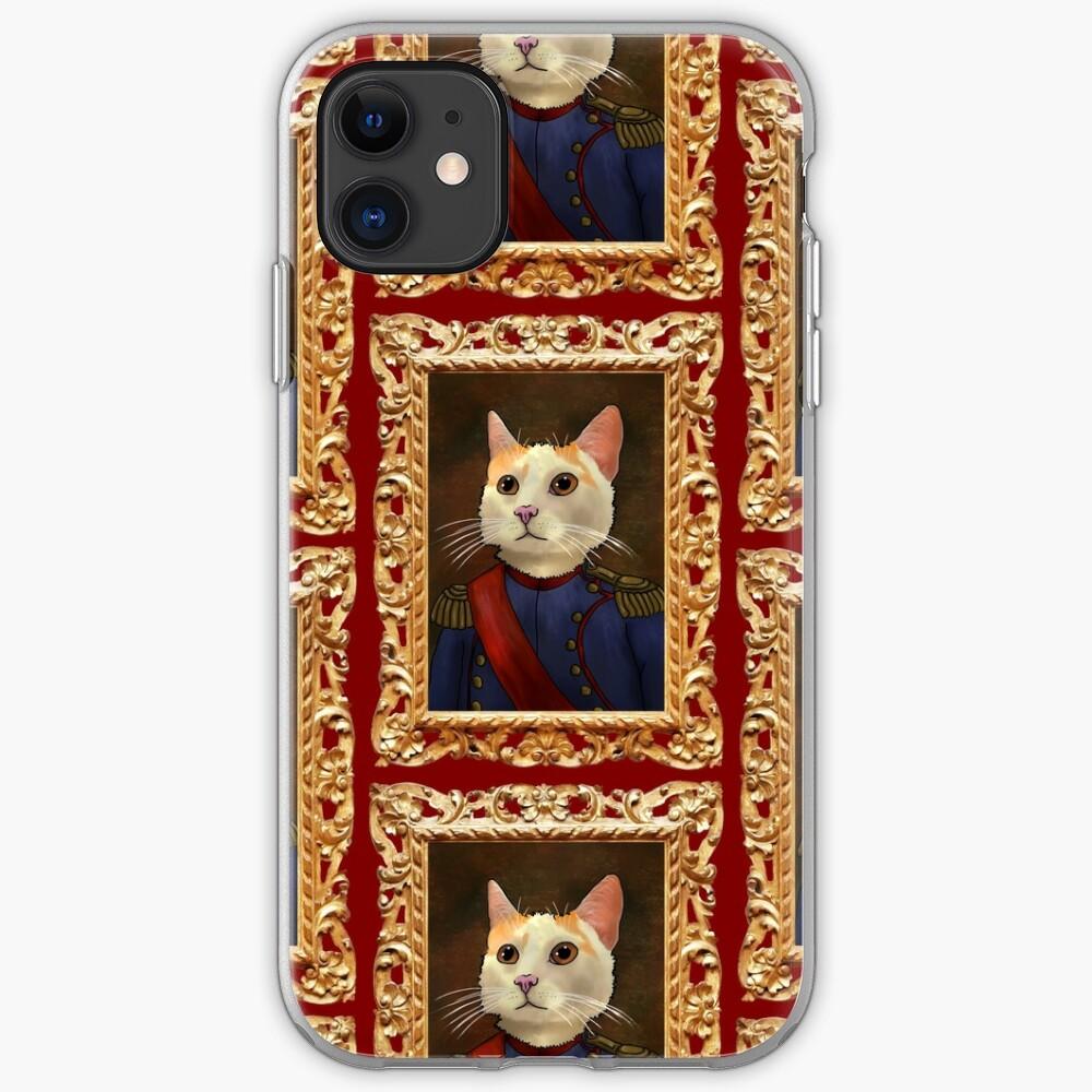 Napoleon Cat iPhone Soft Case