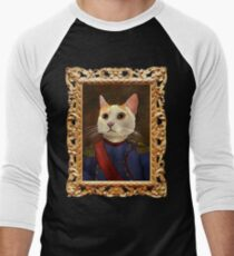 Napoleon Cat Men's Baseball ¾ T-Shirt