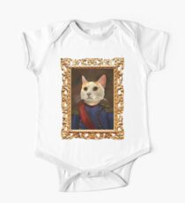 Napoleon Cat Short Sleeve Baby One-Piece