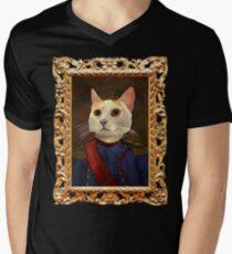 Napoleon Cat V-Neck T-Shirt