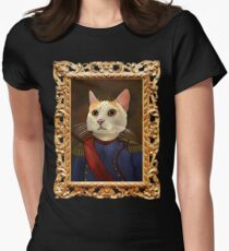 Napoleon Cat Women's Fitted T-Shirt