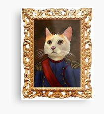 Napoleon Cat Metal Print