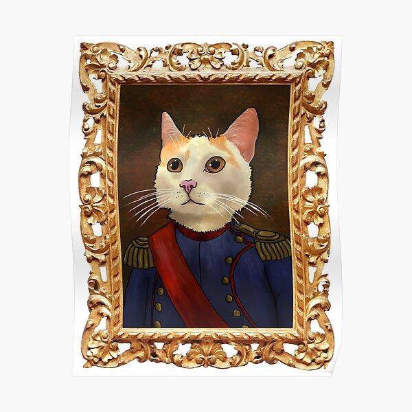 Napoleon Cat Poster