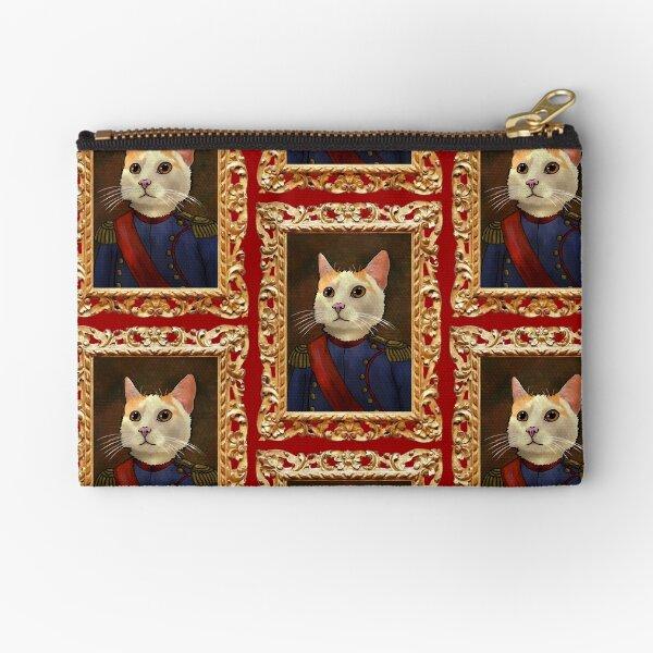 Napoleon Cat Zipper Pouch