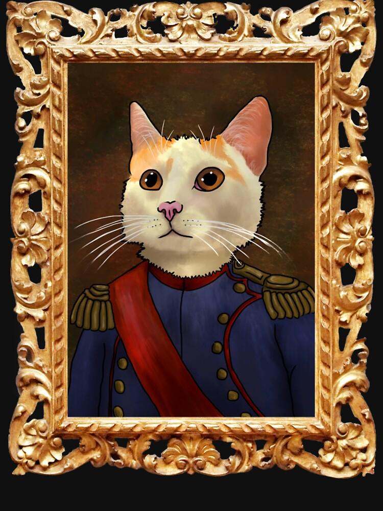 Napoleon Cat by redfeatherone