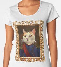 Napoleon Cat Women's Premium T-Shirt