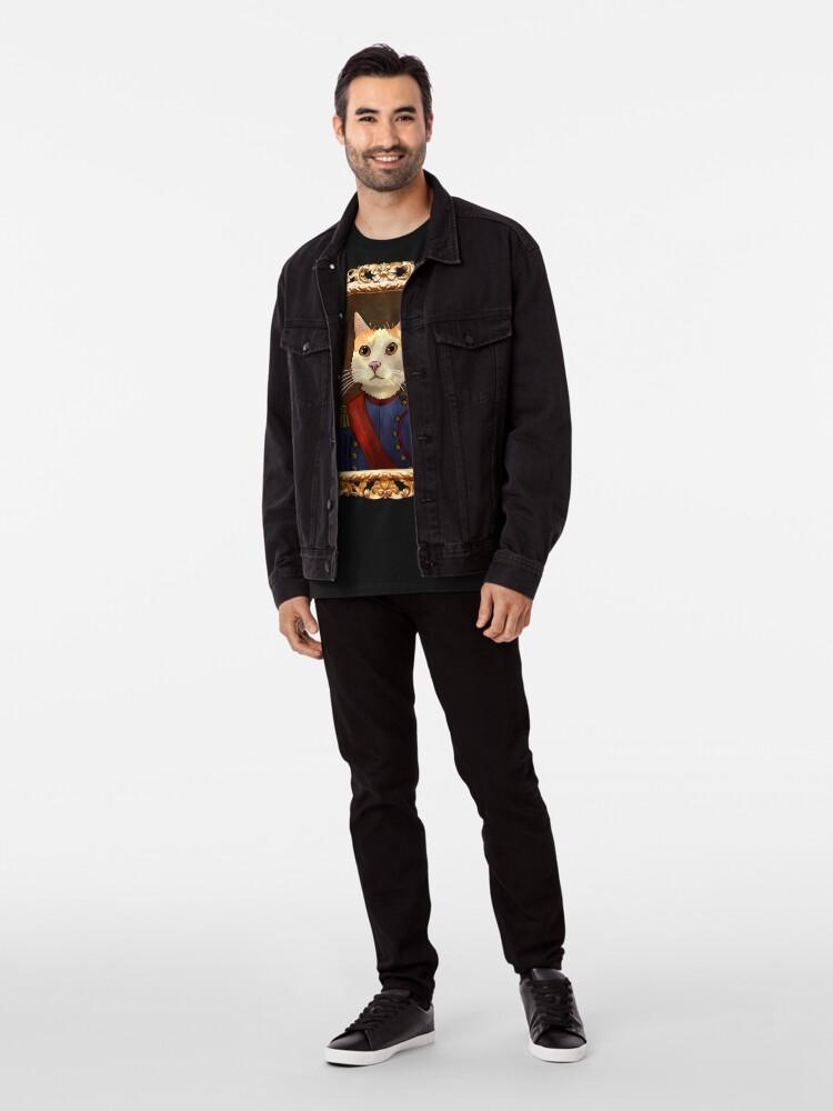Alternate view of Napoleon Cat Premium T-Shirt