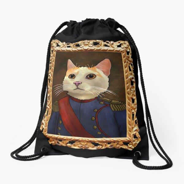 Napoleon Cat Drawstring Bag