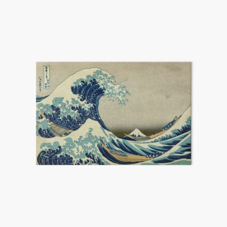 The Great Wave Art Board Print