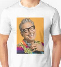 Jeff Goldblum happy Unisex T-Shirt
