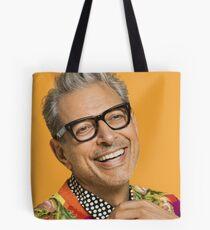Jeff Goldblum happy Tote Bag