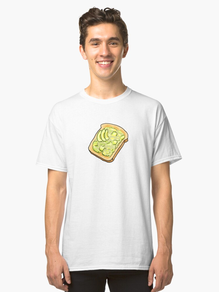 Alternate view of Smashed Avo on Toast Classic T-Shirt