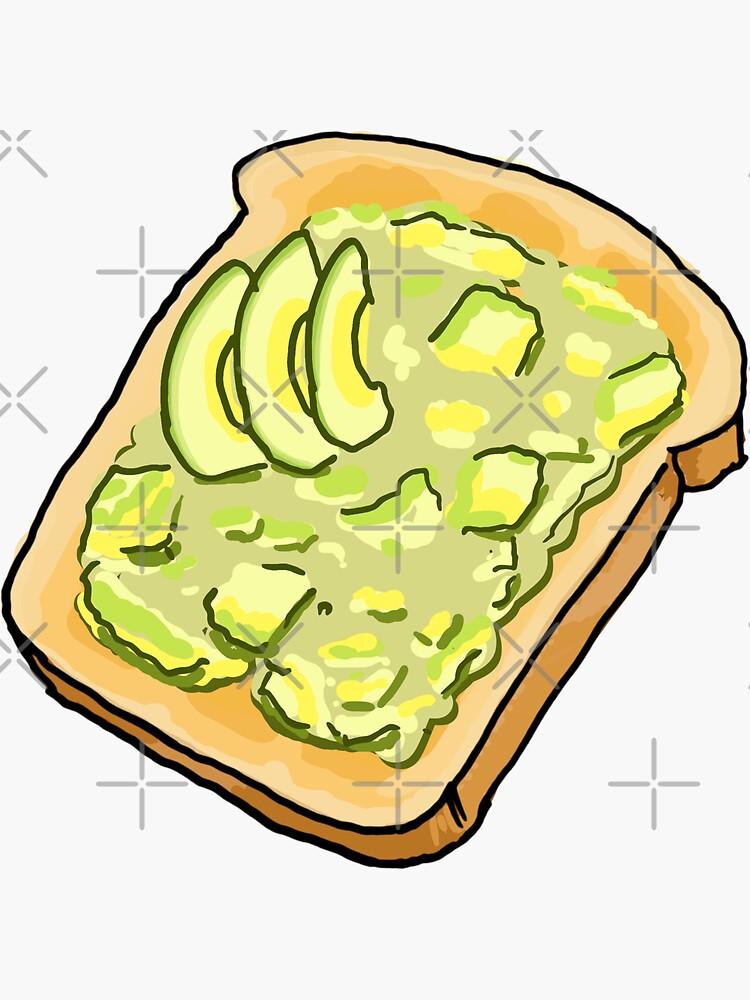 Smashed Avo on Toast by strayastickers