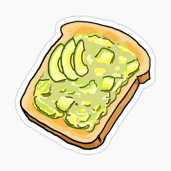 Smashed Avo on Toast Sticker