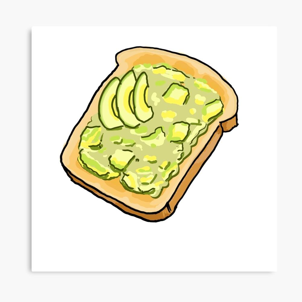 Smashed Avo on Toast Canvas Print