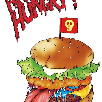 Are you hungry? (hamburger) by TurkeysDesign