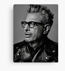 Jeff Goldblum serious Canvas Print