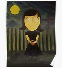 The Graveyard Girl Poster