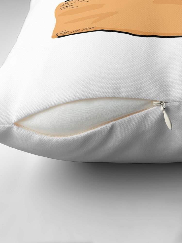 Alternate view of Thumbs Up Mate Throw Pillow