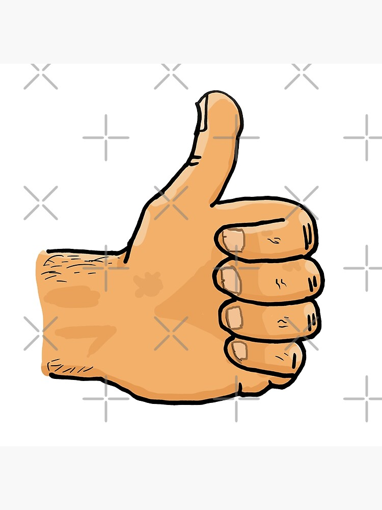 Thumbs Up Mate by strayastickers