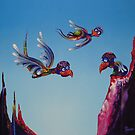 The Royal Aces School of Flight by Rainer Kozik