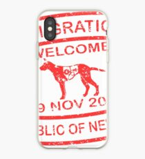 Republic of Newtown - Khaki iPhone Case
