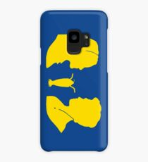 Milkshake Silhouette (V+A | Yellow) Case/Skin for Samsung Galaxy