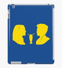 Milkshake Silhouette (V+A | Yellow) iPad Case/Skin
