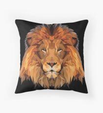 Lion Low Poly Art Floor Pillow