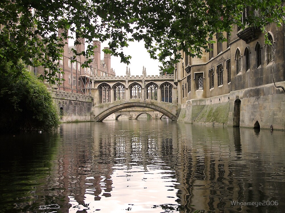 The Bridge of Sighs St Goerges College, Cambridge, UK by Whoameye2006