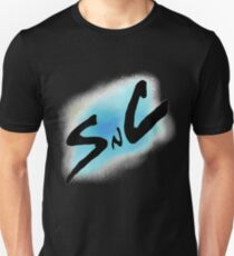 SnC Logo - Blue Unisex T-Shirt