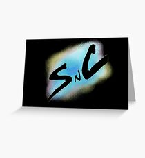 SnC Logo - Blue Greeting Card