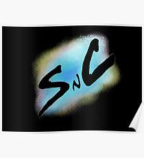SnC Logo - Blue Poster