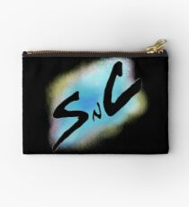 SnC Logo - Blue Studio Pouch