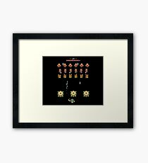 Hyrule Invaders - A Link to the Past Framed Print