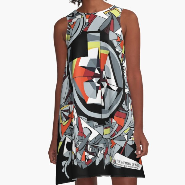 The Meaning of Music (design) A-Line Dress