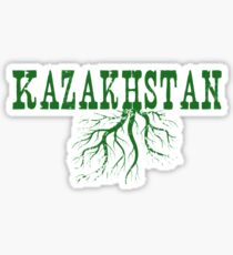 Kazakhstan Roots Sticker