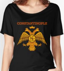 Constantinople Eastern Roman Empire Byzantine Women's Relaxed Fit T-Shirt