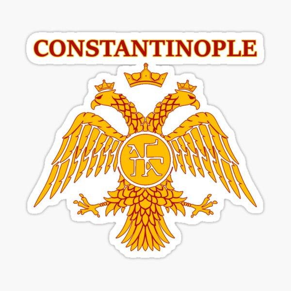 Constantinople Eastern Roman Empire Byzantine Sticker