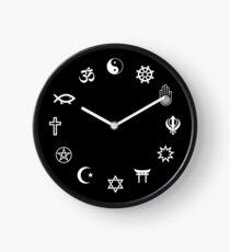 COEXIST - Symbols of Faith Clock