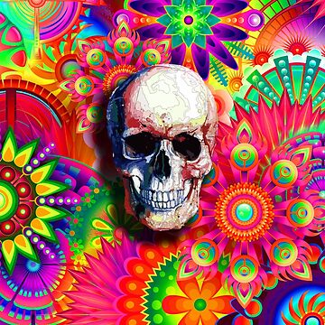 Skull by colourfix