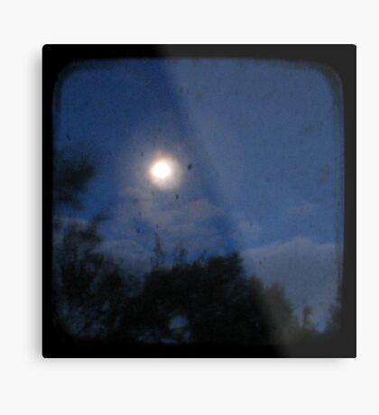Night - Through The Viewfinder Metal Print